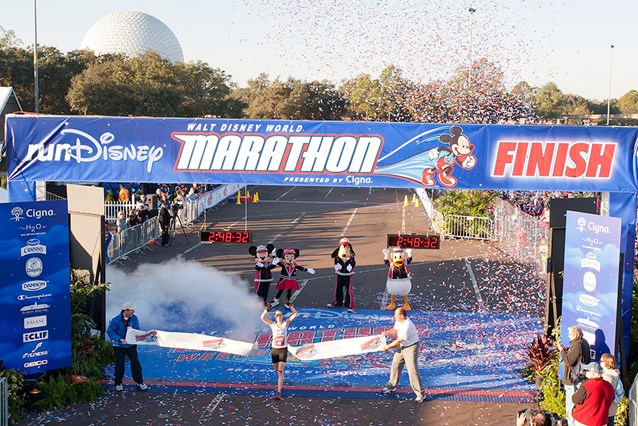 Walt Disney World Marathon Weekend - Highest placed women in the race - Renee High
