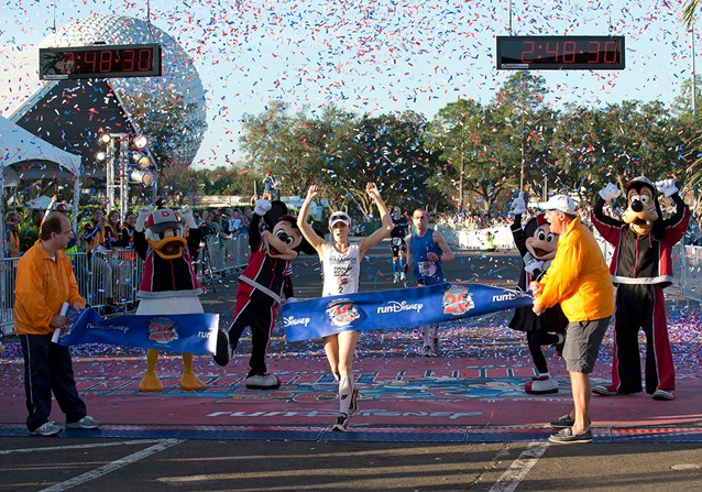 Walt Disney World Marathon Weekend - 2013 Walt Disney World Marathon Female Winner Renee