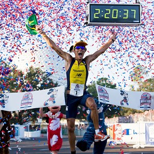 1 of 1: Walt Disney World Marathon Weekend - Brazil's Adriano Bastos wins his sixth Disney Marathon
