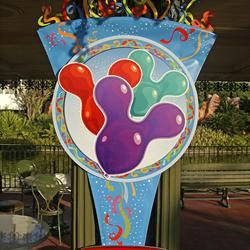 First What Will You Celebrate promotional signs appear int he Magic Kingdom