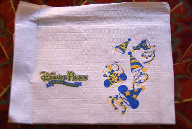 Celebrate edition napkins