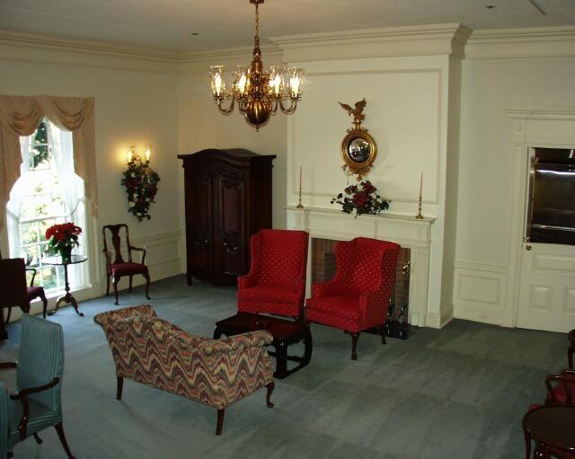 American Adventure corporate lounge