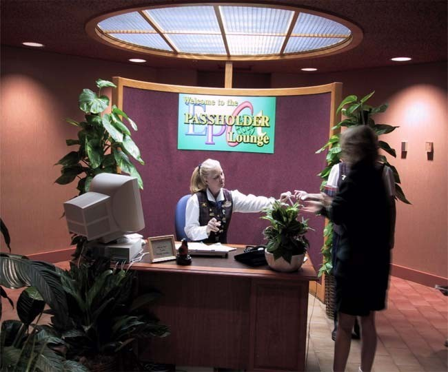 The Land corporate lounge