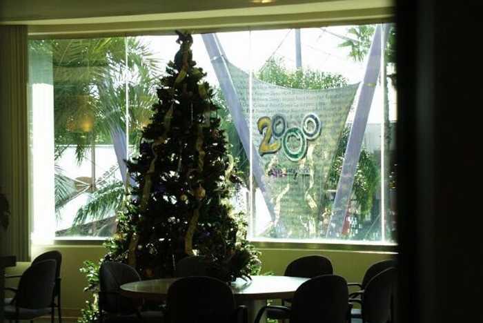 Spaceship Earth ATT corporate lounge