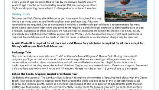 2016 Disney Dining Plan brochures updated to include appetizers for Deluxe plan