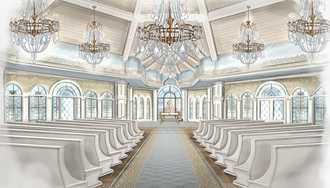 PHOTO - Disney planning a new look for the Wedding Pavilion