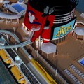 Disney Magic - Another angle of the AquaDunk on the Disney Magic