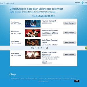 6 of 7: FASTPASS - FASTPASS+ Step 5