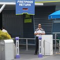 FASTPASS - Space Mountains FASTPASS+ sensors in the FASTPASS return line
