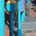 FASTPASS - Close up of the FASTPASS+ RFID readers