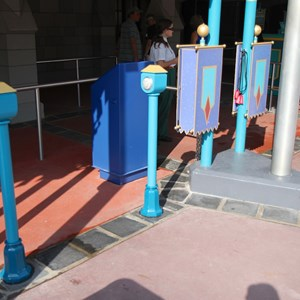 8 of 11: FASTPASS - The RFID FASTPASS+ sensors at Mickey's PhilharMagic