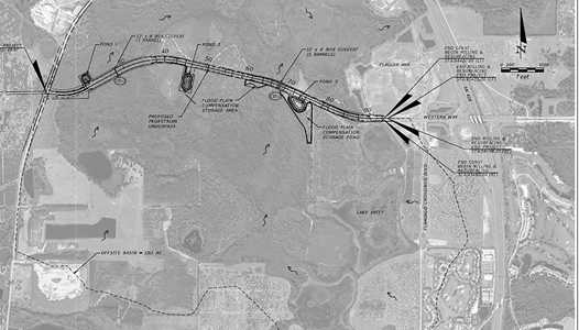 Western Way to be extended through Flamingo Crossings to Route 545