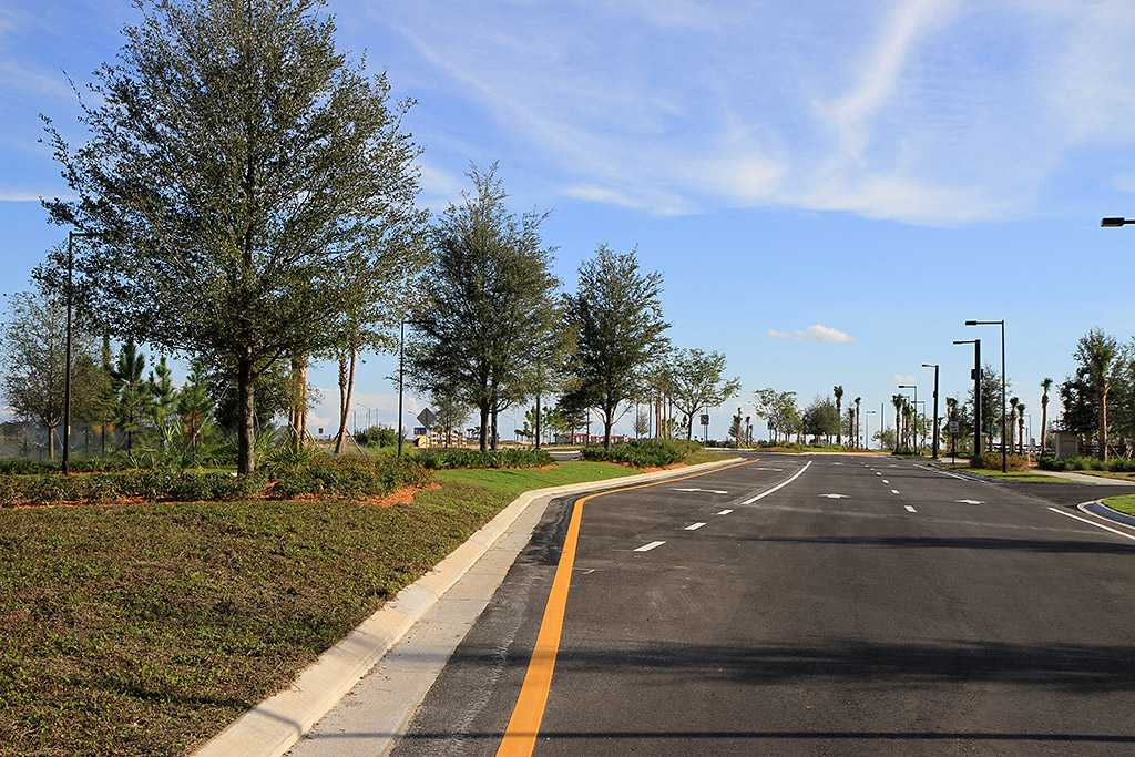 Empty Flamingo Crossings site