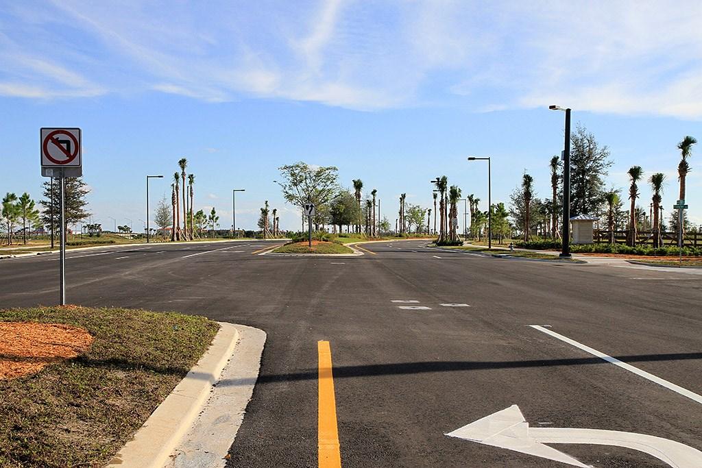 Flamingo Crossings roads open