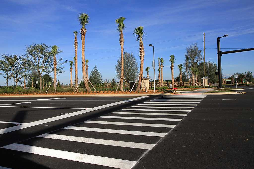 The location of the planned Marriott hotels at Flamingo Crossings