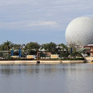 1 of 22: Give a Day, Get a Disney Day - Give a Day, Get a Disney Day - 115,527 cans of food make their way around Epcot