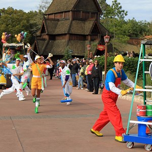 3 of 22: Give a Day, Get a Disney Day - Give a Day, Get a Disney Day - 115,527 cans of food make their way around Epcot