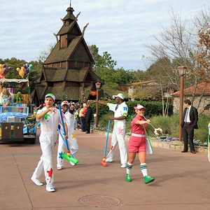 7 of 22: Give a Day, Get a Disney Day - Give a Day, Get a Disney Day - 115,527 cans of food make their way around Epcot