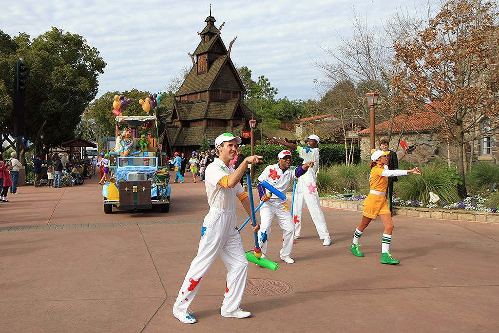 Give a Day, Get a Disney Day - 115,527 cans of food make their way around Epcot