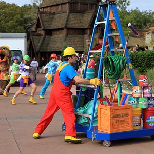 14 of 22: Give a Day, Get a Disney Day - Give a Day, Get a Disney Day - 115,527 cans of food make their way around Epcot