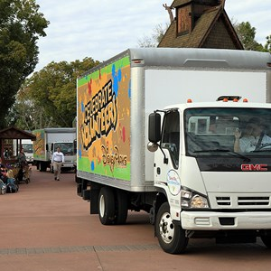 16 of 22: Give a Day, Get a Disney Day - Give a Day, Get a Disney Day - 115,527 cans of food make their way around Epcot