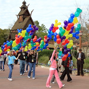 17 of 22: Give a Day, Get a Disney Day - Give a Day, Get a Disney Day - 115,527 cans of food make their way around Epcot