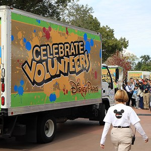 19 of 22: Give a Day, Get a Disney Day - Give a Day, Get a Disney Day - 115,527 cans of food make their way around Epcot
