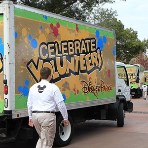 20 of 22: Give a Day, Get a Disney Day - Give a Day, Get a Disney Day - 115,527 cans of food make their way around Epcot