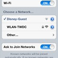 Internet Access - Wi-Fi network selection