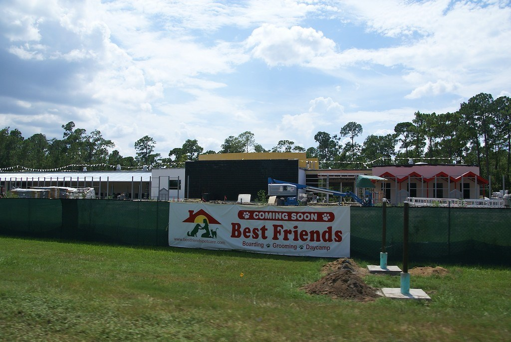 Best Friends luxury pet resort construction