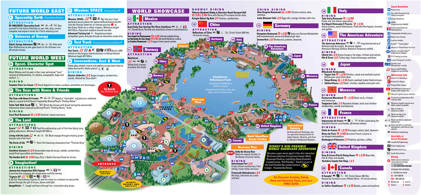 Walt Disney World Park And Resort Maps Boardwalk Inn