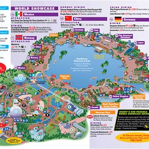2 of 4: Walt Disney World Park and Resort Maps - Epcot