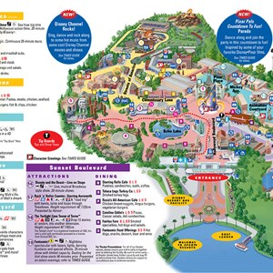 4 of 4: Walt Disney World Park and Resort Maps - Disney's Hollywood Studios