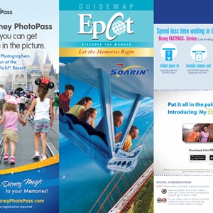 3 of 8: Walt Disney World Park and Resort Maps - Epcot guidemap January 2013