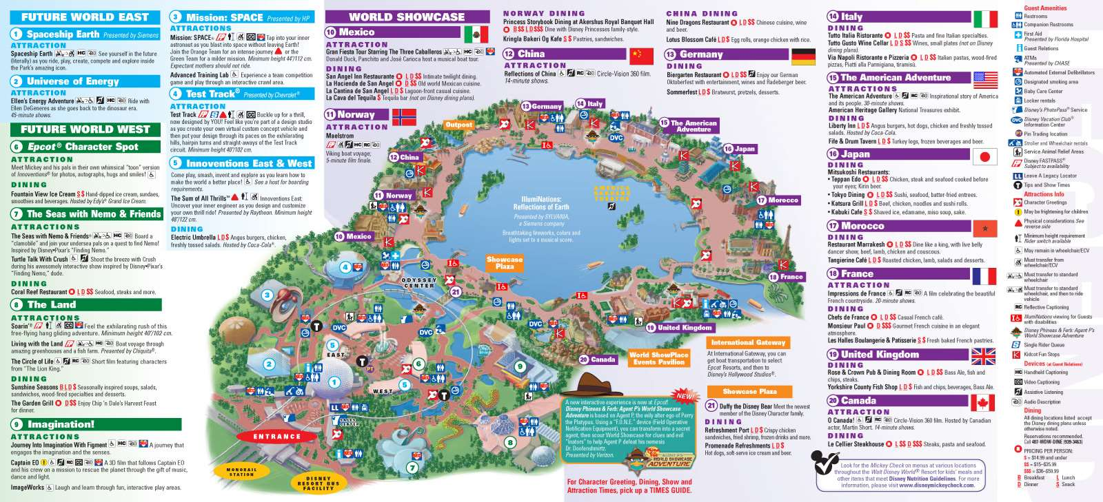New Park Maps Released Today Include My Disney Experience - Florida map orlando area