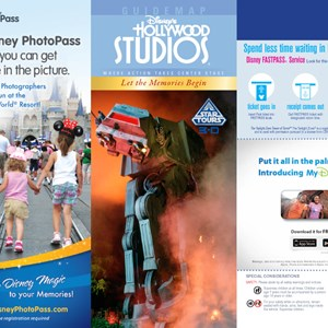 7 of 8: Walt Disney World Park and Resort Maps - Disney's Hollywood Studios guidemap 2013