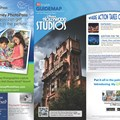 Walt Disney World Park and Resort Maps - New 2013 Disney&#39;s Hollywood Studios Guidemap Page 1