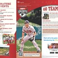 Walt Disney World Park and Resort Maps - New 2013 ESPN World of Sports Guidemap Page 1