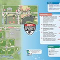 Walt Disney World Park and Resort Maps - New 2013 ESPN World of Sports Guidemap Page 2