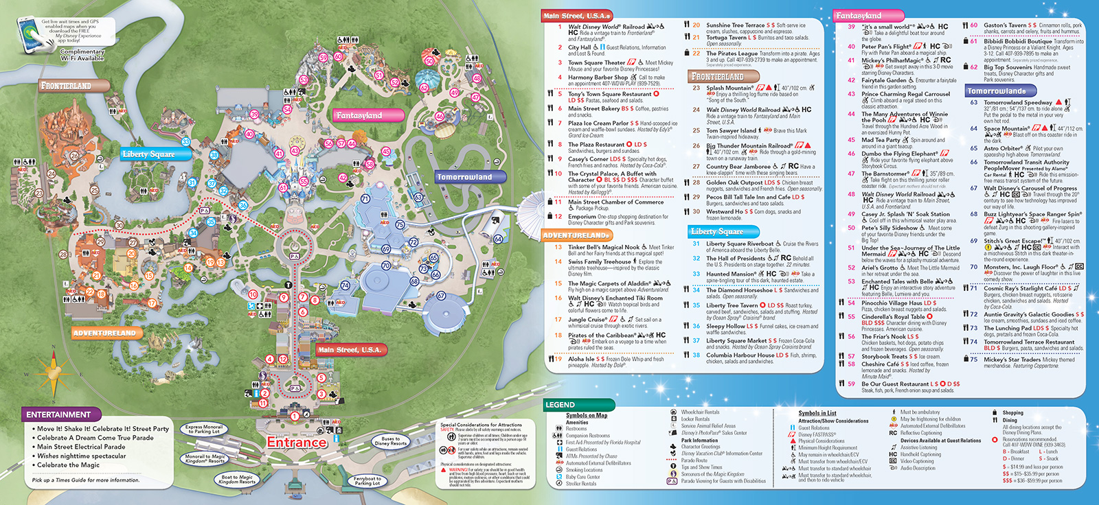 magic kingdom orlando map pdf