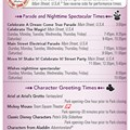 Walt Disney World Park and Resort Maps - New 2013 Times Guide Page 1