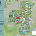 Walt Disney World Park and Resort Maps - New 2013 All Star Movies Resort map