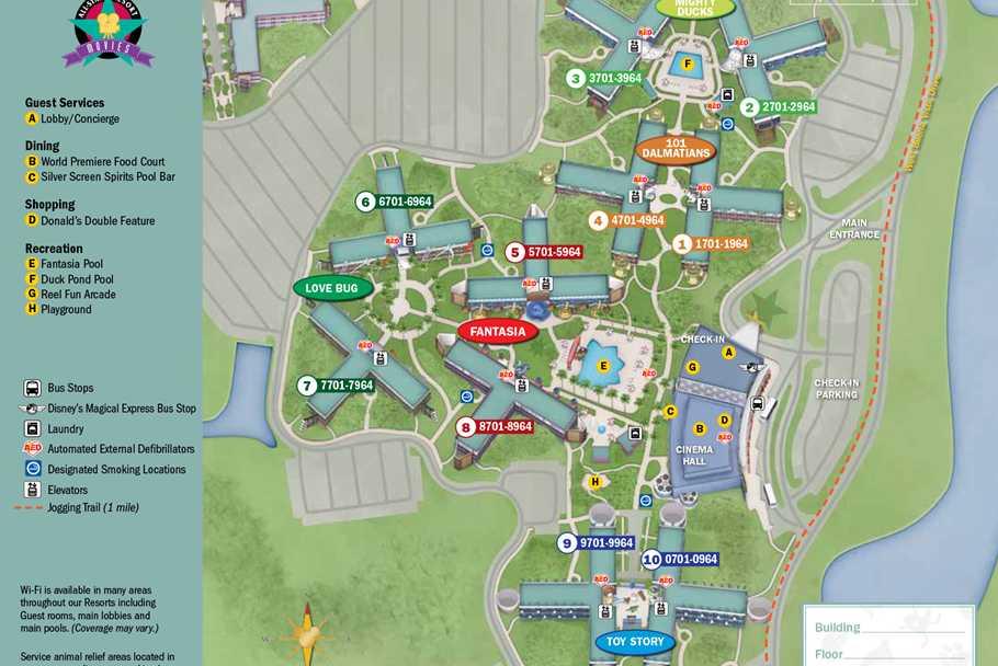 Map Of Disney World Hotels Rouydadnewsinfo: Disney World Hotels Map At Slyspyder.com