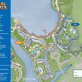 Walt Disney World Park and Resort Maps - New 2013 BoardWalk Resort map