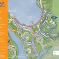 Walt Disney World Park and Resort Maps - New 2013 BoardWalk Villas Resort map
