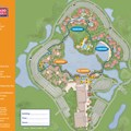 Walt Disney World Park and Resort Maps - New 2013 Coronado Springs Resort map - Casitas and El Centro