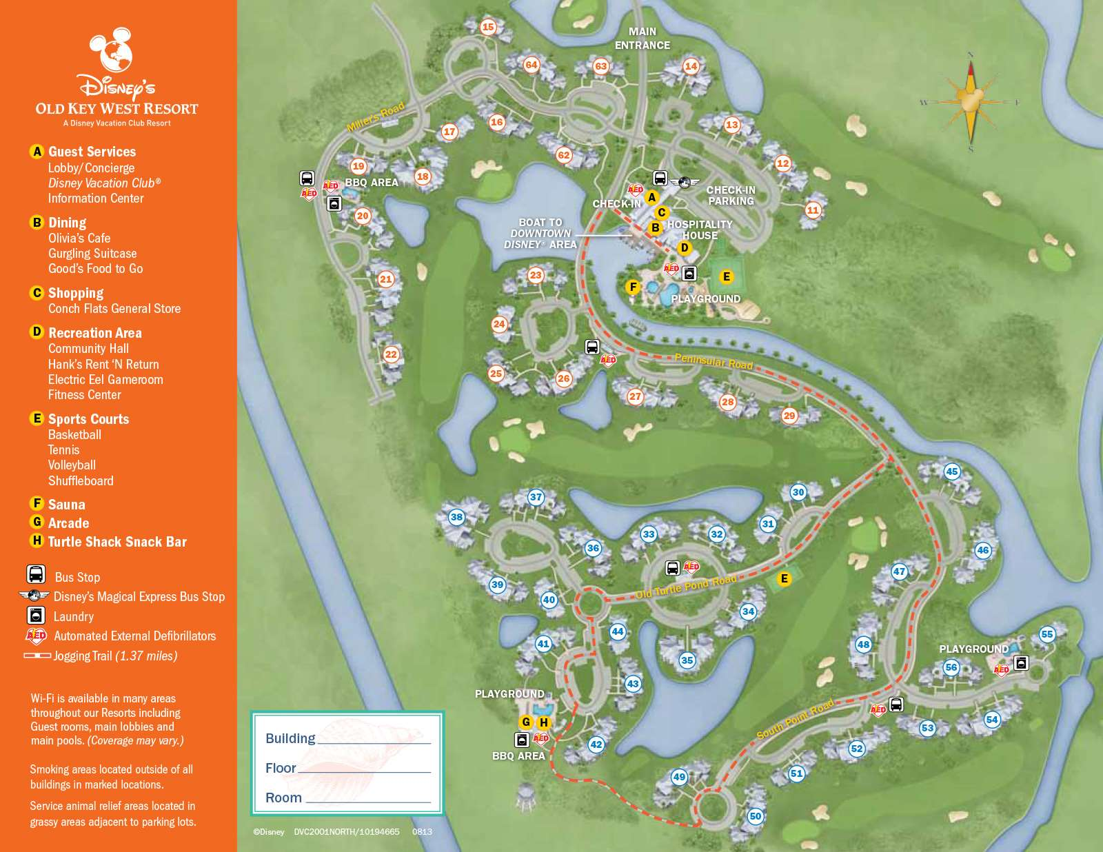 PHOTOS New Design Of Maps Now At Walt Disney World Resort Hotels - Map florida keys hotels