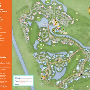 22 of 37: Walt Disney World Park and Resort Maps - New 2013 Old Key West Resort map