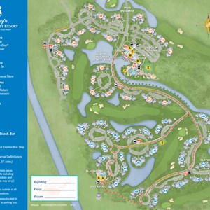24 of 37: Walt Disney World Park and Resort Maps - New 2013 Old Key West Resort map