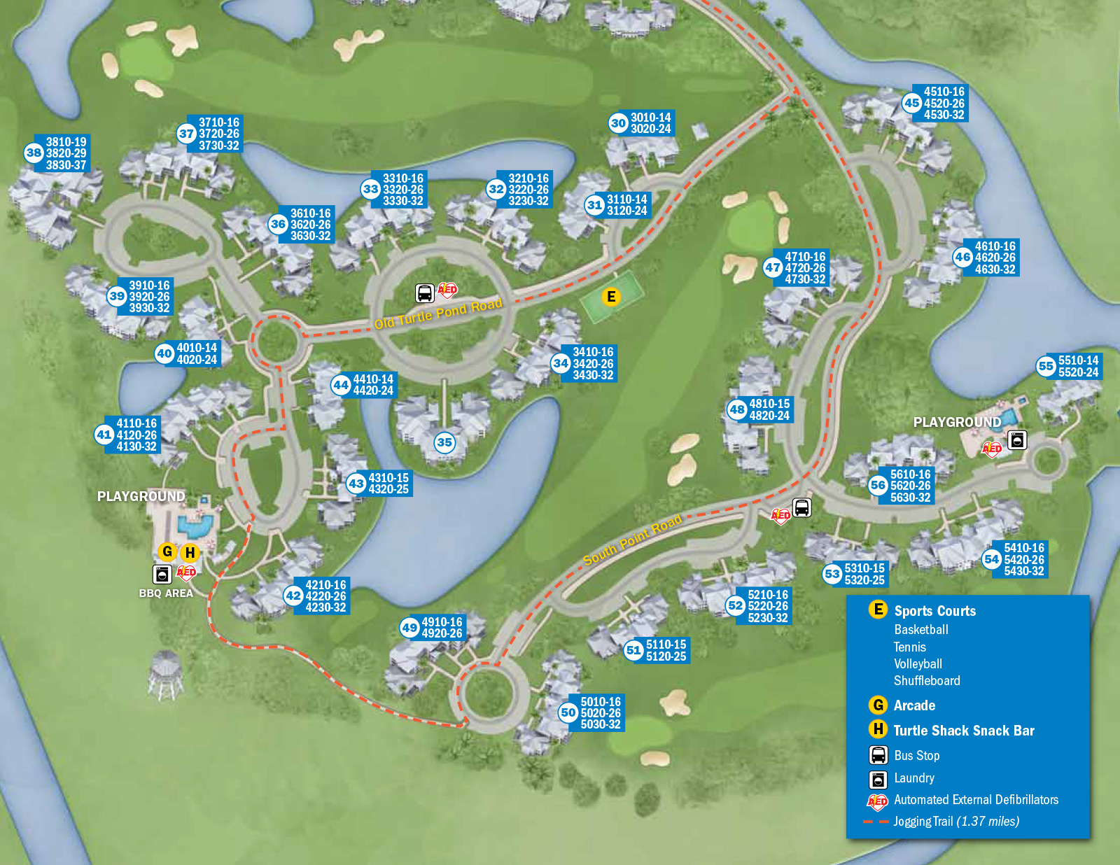 New Look  Resort Hotel Maps Photo  Of - Florida map key west